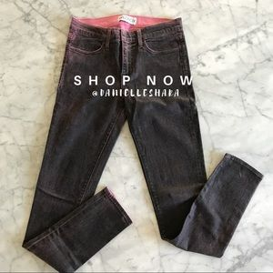 WILDFOX Marianne Mid Rise Skinny Size 28